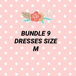 Resell or keep Bundle 9 Dresses size m